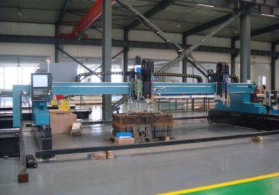 Máquina de corte de chama de plasma de pórtico CNC para chapa metálica de ferro