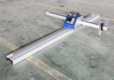 Máquina de corte de mesa de plasma CNC para placa inox / aceiro / cooper