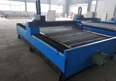 Ferramenta de corte de alta precisión, máquina de corte de plasma CNC de metal de aceiro carbono