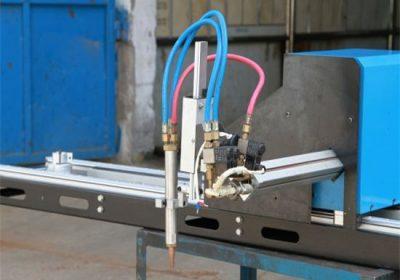 Mini-pórtico Máquina de corte de plasma CNC / Corte de plasma de gas CNC