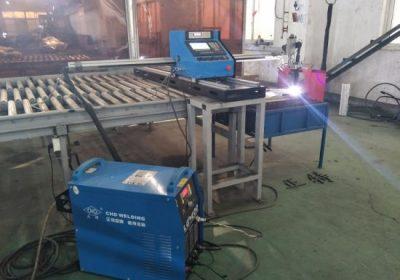 Máquina de corte de plasma CNC de alta velocidade 3000 * 1500mm en máquina de corte de aluminio de aceiro inoxidable de baixo custo