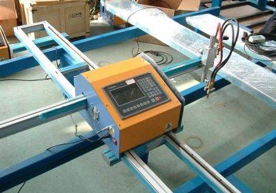 Cnc profesional máquina de corte de mesa de chama con prezo de fábrica
