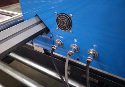 Máquina de corte de plasma CNC de pórtico, máquina cortadora de chapa de aceiro cortador de plasma