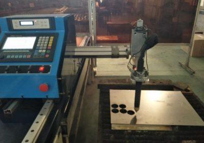 Máquina de corte por plasma CNC portátil de aceiro inoxidable