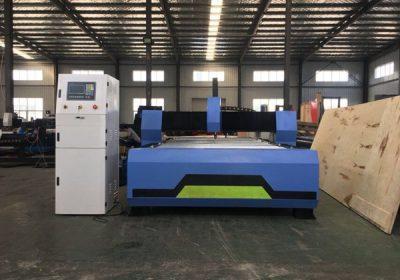 Fácil operación de enrutador cnc para traballar madeira coa máquina de corte de plasma cnc barato
